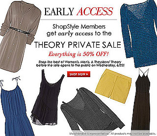Theory Private Sale Early Access