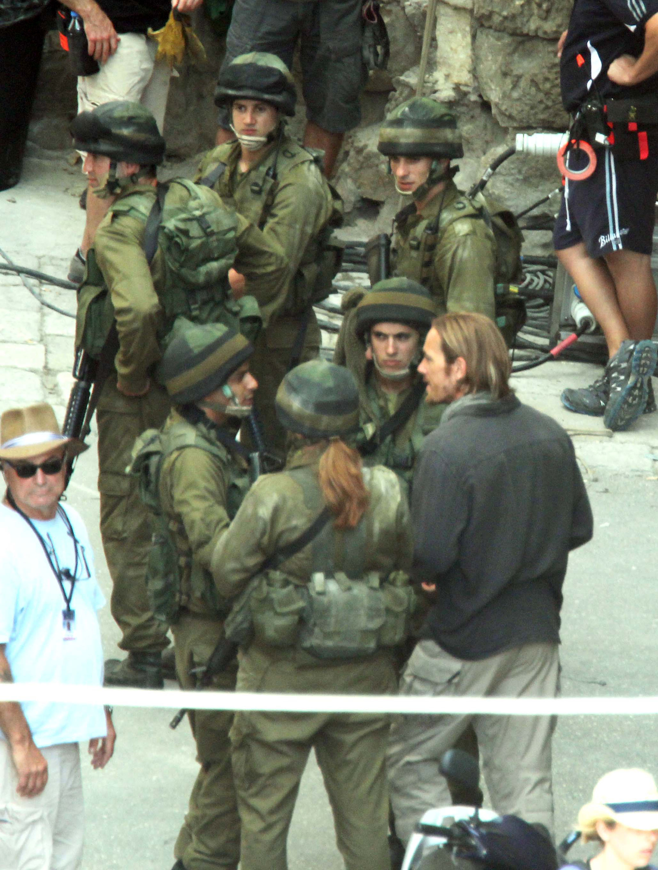 Brad Pitt fought an army of zombies on the set of World War Z.