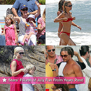 Celebrity Fourth of July Pictures