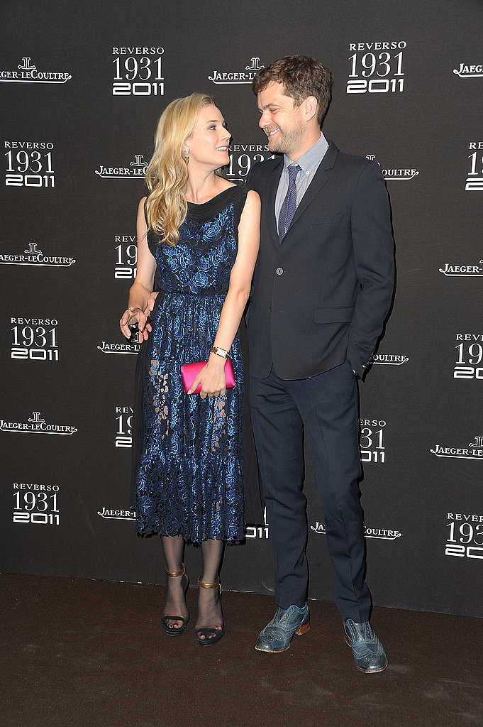 Diane Kruger and Joshua Jackson show PDA in Paris.