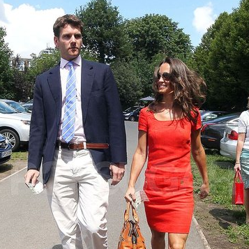 Pippa Middleton and Alex Loudon Pictures at Wimbledon