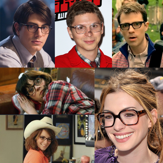 Celebs Wearing Geeky Glasses
