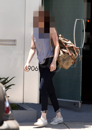 Can You Guess Which Twilight Star Was Leaving the Gym?