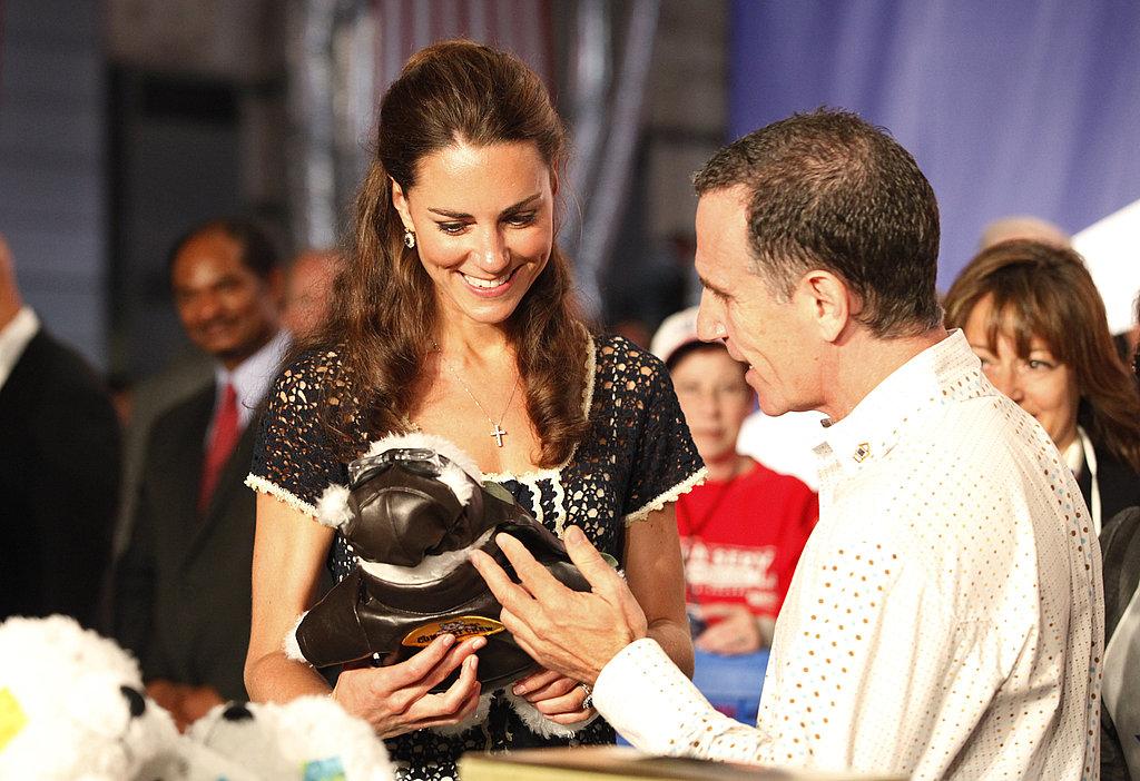 Kate Middleton's last day in LA.