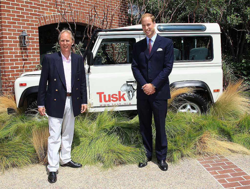 Prince William at Tusk event in Beverly Hills.