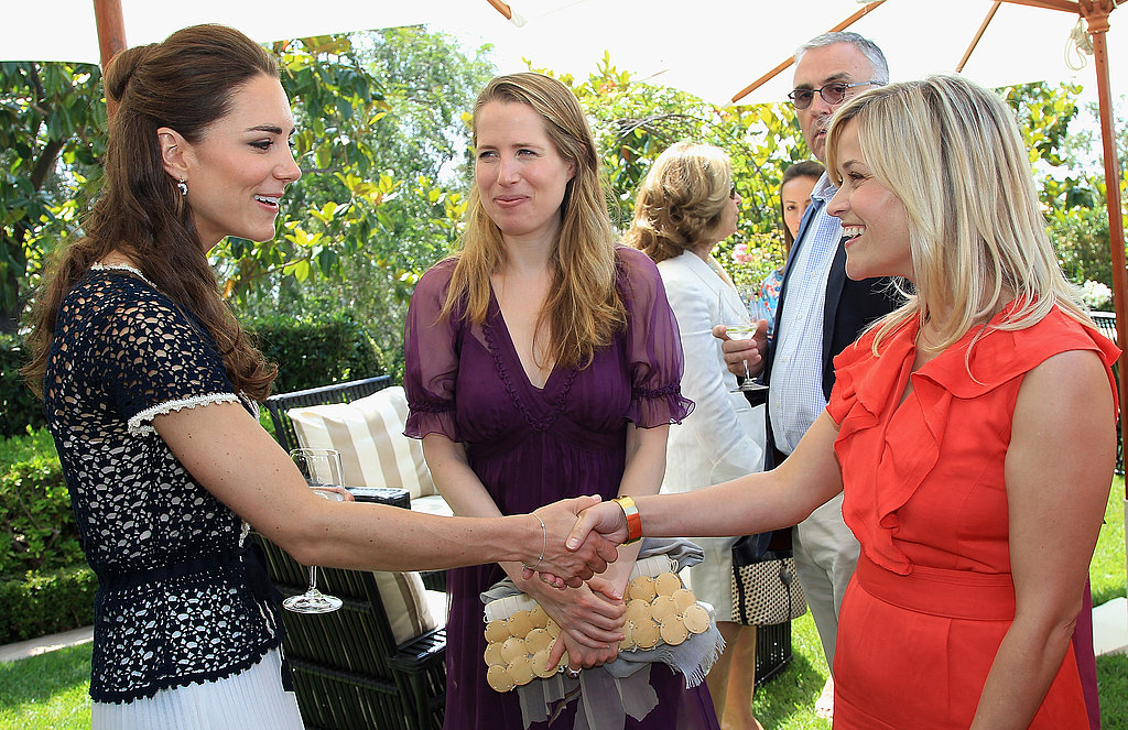 Kate Middleton meets Reese Witherspoon in LA.