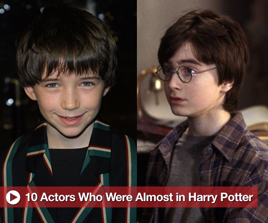 10 actors who were almost cast in the harry potter movies
