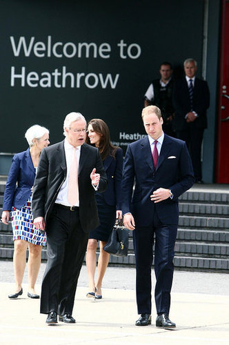 Prince William and Kate Middleton headed out of Heathrow for Canada.