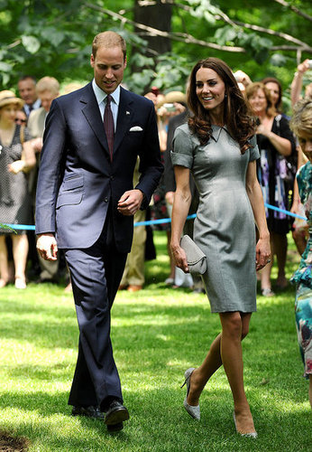 The tree Prince William and Kate Middleton planted is near one his parents, Prince Charles and Princess Diana, planted there.