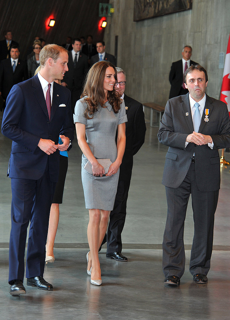 Kate Middleton and Prince William made several appearances during their busy day.