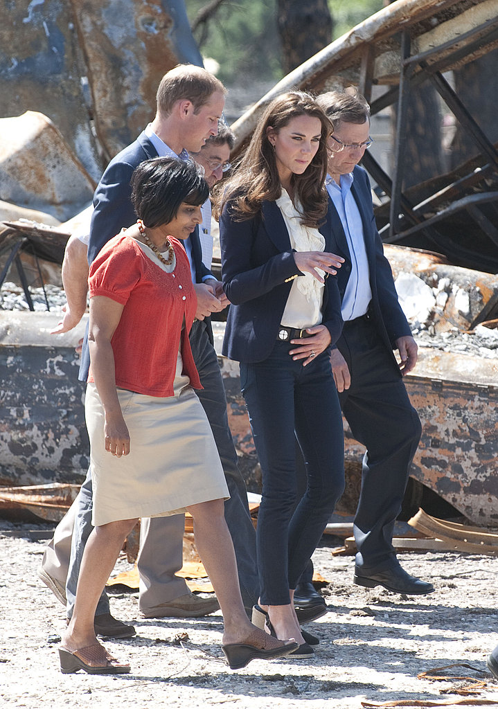 Kate Middleton and Prince William visit Alberta.