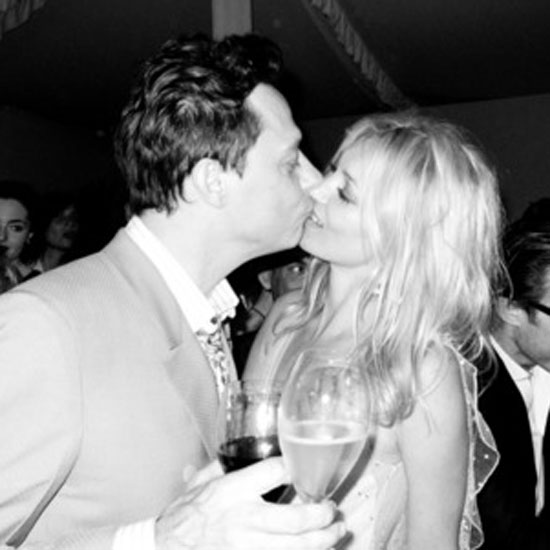 Kate Moss and Jamie Hince Inside Wedding Pictures