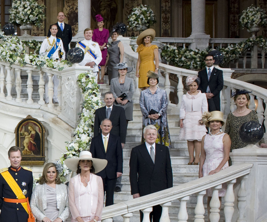 See the Official Portrait From the Monaco Royal Wedding