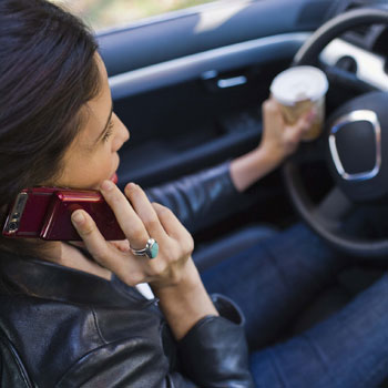 Gadgets Caused 25 Percent of Car Crashes