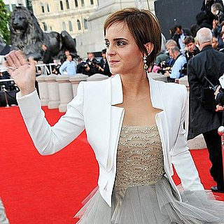 Emma Watson Harry Potter and the Deathly Hallows Part 2 Fashion: See Hermione's Style Evolution From The Harry Potter Premieres!