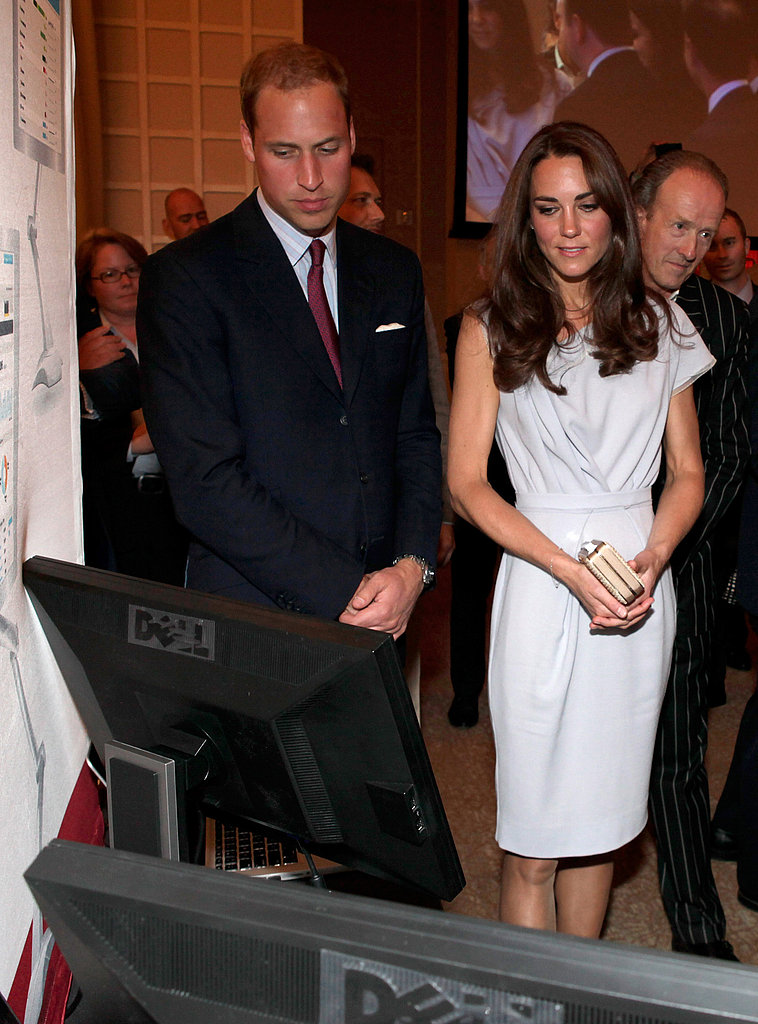 Kate Middleton and Prince William at Variety technology event in LA.