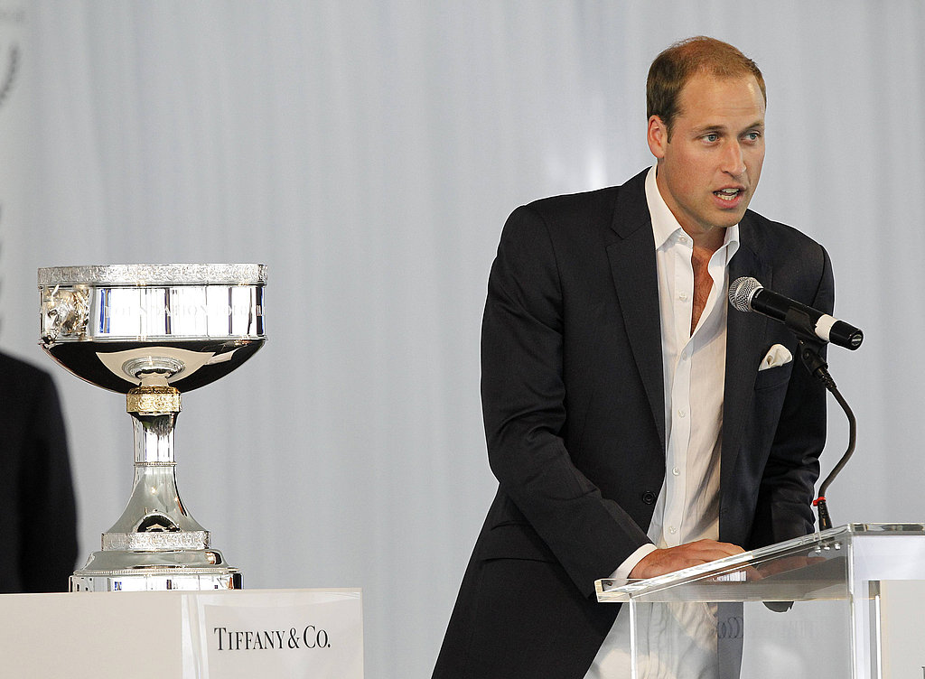 Prince William at polo event in Santa Barbara.