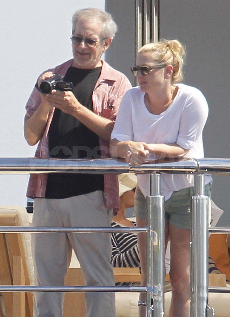 Gwyneth Paltrow on vacation with Steven Spielberg.