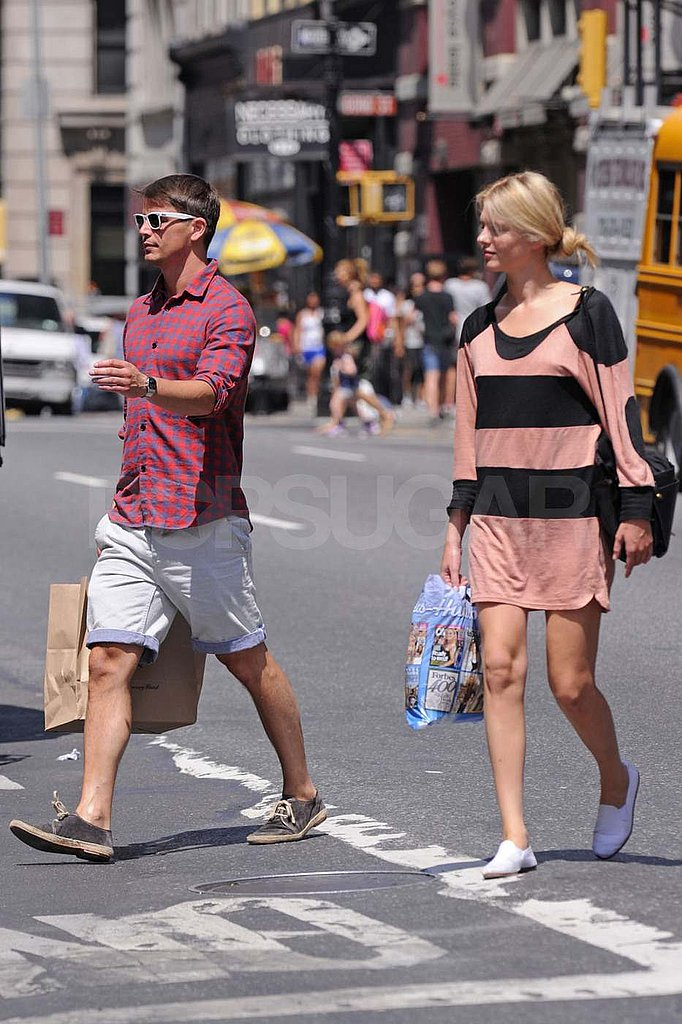 Josh Hartnett and Sophia Lie in NYC.