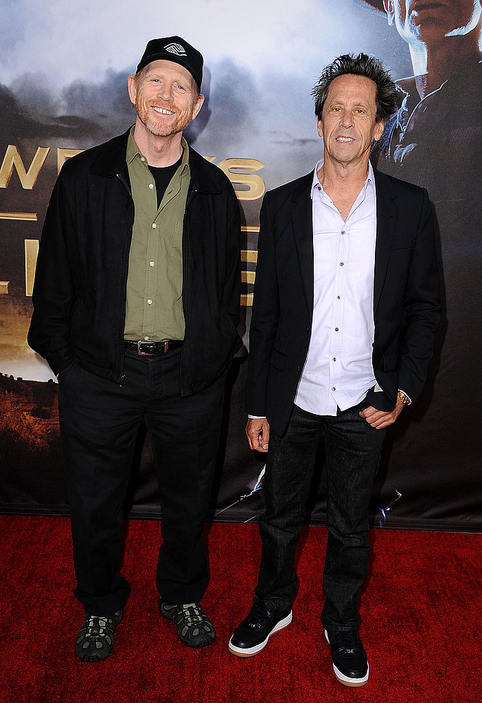 Ron Howard and Brian Grazer were there to support the film.