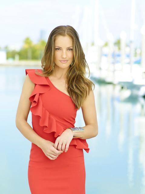 Minka Kelly as Eve in ABC&#039;s Charlie&#039;s Angels.