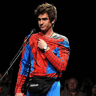 Andrew Garfield Wearing Spider-Man Costume at Comic-Con Pictures