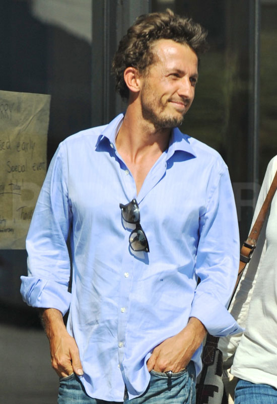 Tao Ruspoli was all smiles meeting with Olivia Wilde close to his Venice Beach home.