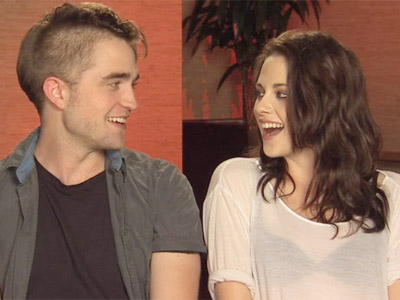 Cute Video: Cineplex Breaking Dawn Interview with Kristen Stewart and Robert Pattinson