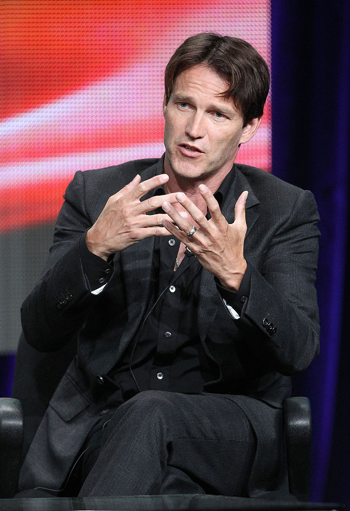 Stephen answered questions regarding the fourth season of True Blood.
