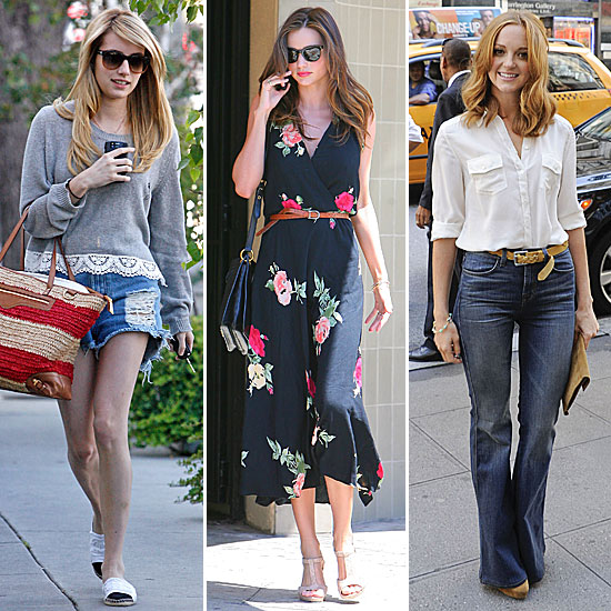 Celebrity Style Pictures and Quiz