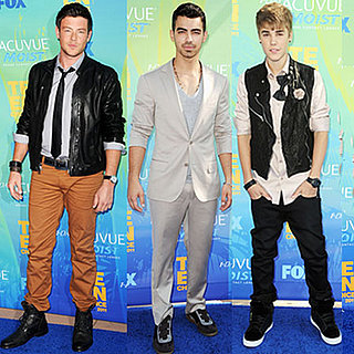 Justin Bieber at 2011 Teen Choice Awards 2011-08-07 18:31:29