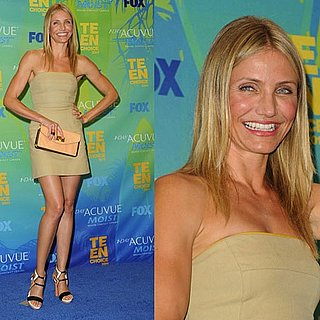Cameron Diaz at 2011 Teen Choice Awards 2011-08-07 18:58:13