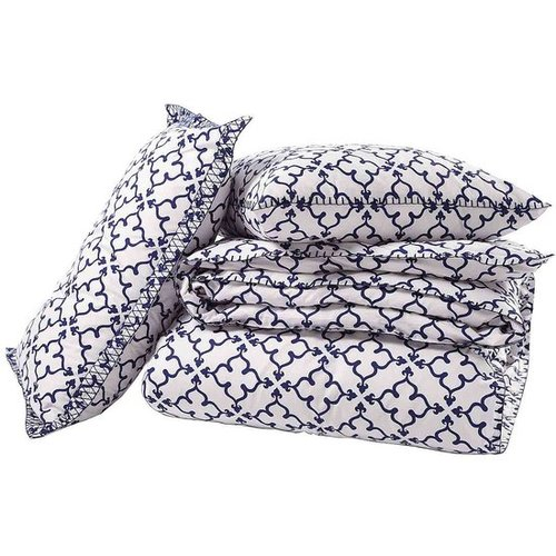 John Robshaw Textiles - Pipal Indigo - Duvets & Shams - Bedding