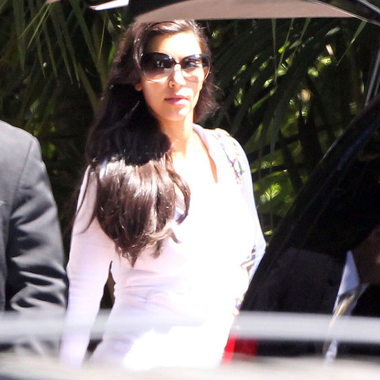 Pictures of Kim Kardashian and Kris Humphries After Wedding