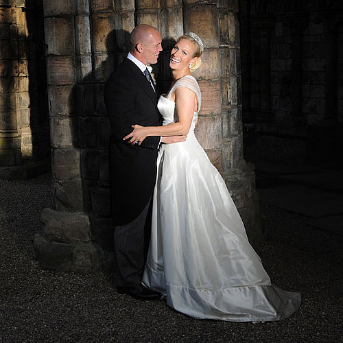 Zara Phillips and Mike Tindall tied the knot at Canongate Kirk in Edinburgh, Scotland, in July 2011.