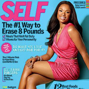 Jennifer Hudson Covers Self Magazine, Talks Her Weight Loss