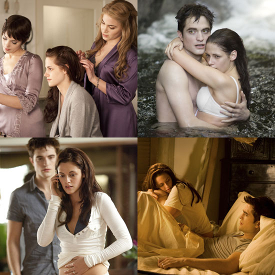 Nine Hot New Pictures of Breaking Dawn's Prewedding and Honeymoon Moments!
