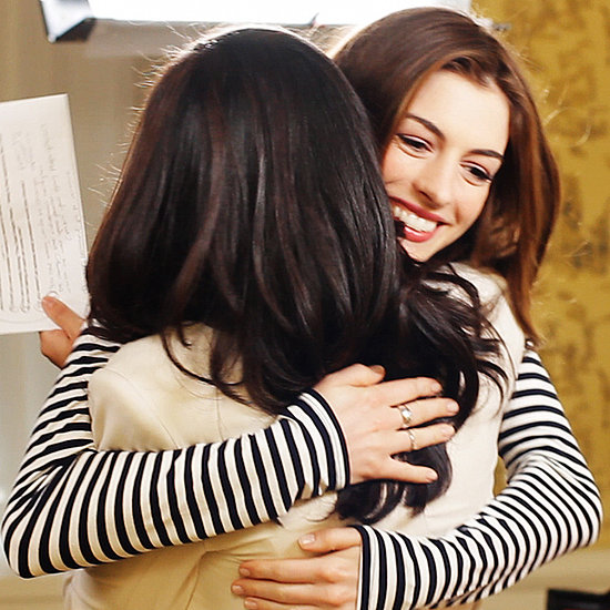 I'm a Huge Fan Anne Hathaway: Anne Talks Glee, Matt Damon, and Her Dream of Singing With Adele!