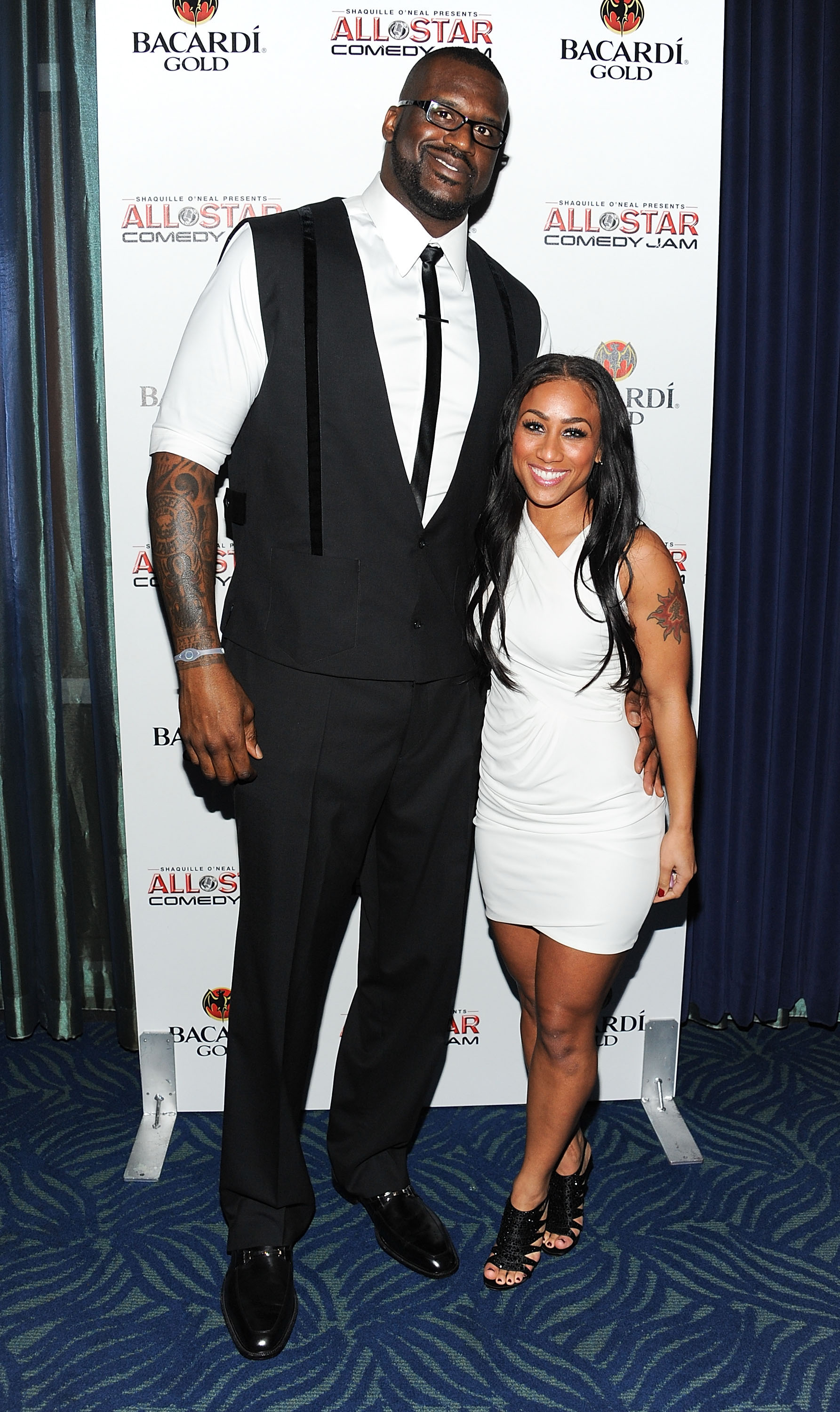 Shaquille ONeal and Nicole Alexander | Height Difference