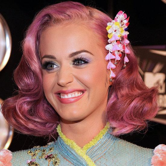Katy Perry Pink Hair at VMAs