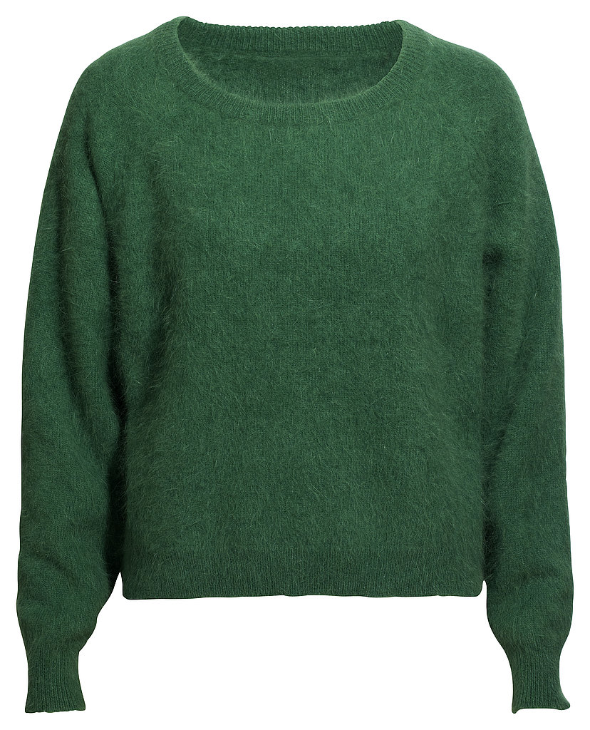 Forest Green Mohair Sweater ($50)