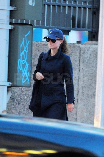 Natalie Portman stepped out without her baby Aleph.