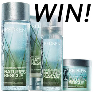GIVEAWAY: WIN 1 of 10 Redken Nature's Rescue Hair Packs!