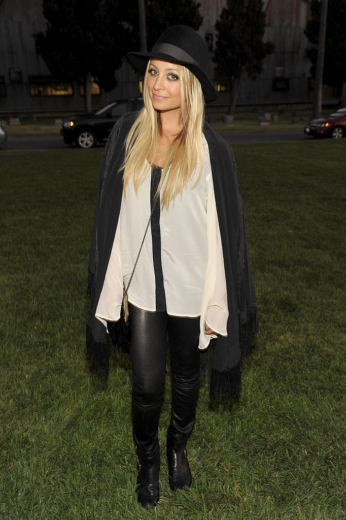 Nicole Richie at Band of Outsiders event in LA.