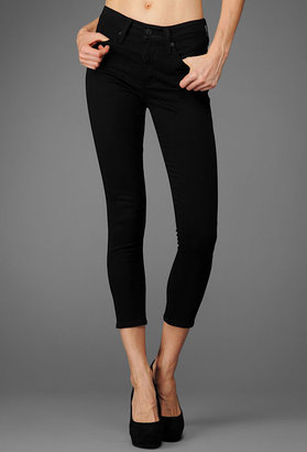 A pair of perfect fitting black pants are a must for Fall. One of our editors swears by this particular brand and silhouette.   The Farrah Skinny Crop ($159)