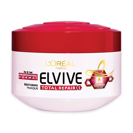 L'Oreal Paris Elvive Total Repair 5 Restoring Masque, $11.95