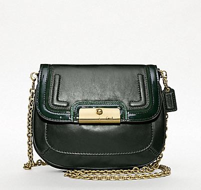 Coach New Kristin Spectator Leather Crossbody Bag ($198)