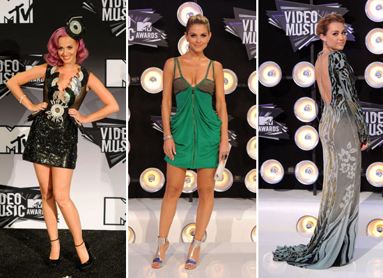 Pictures of Celebrities at the 2011 MTV Video Music Awards