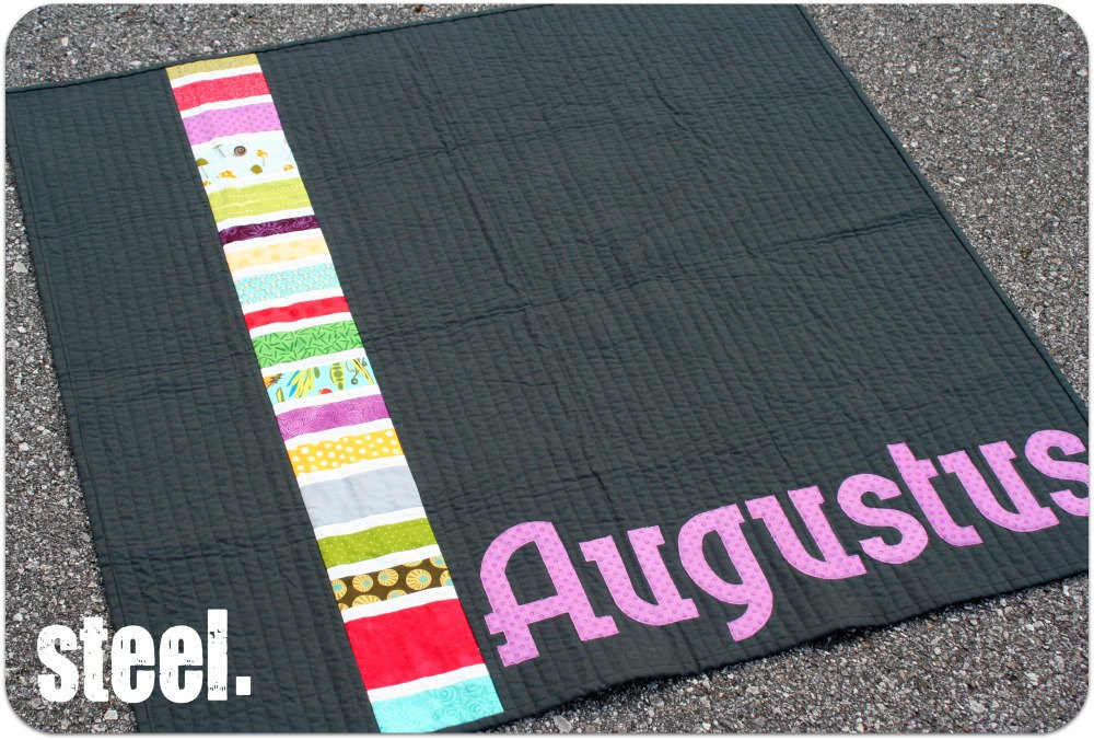 Personalized Baby Quilt