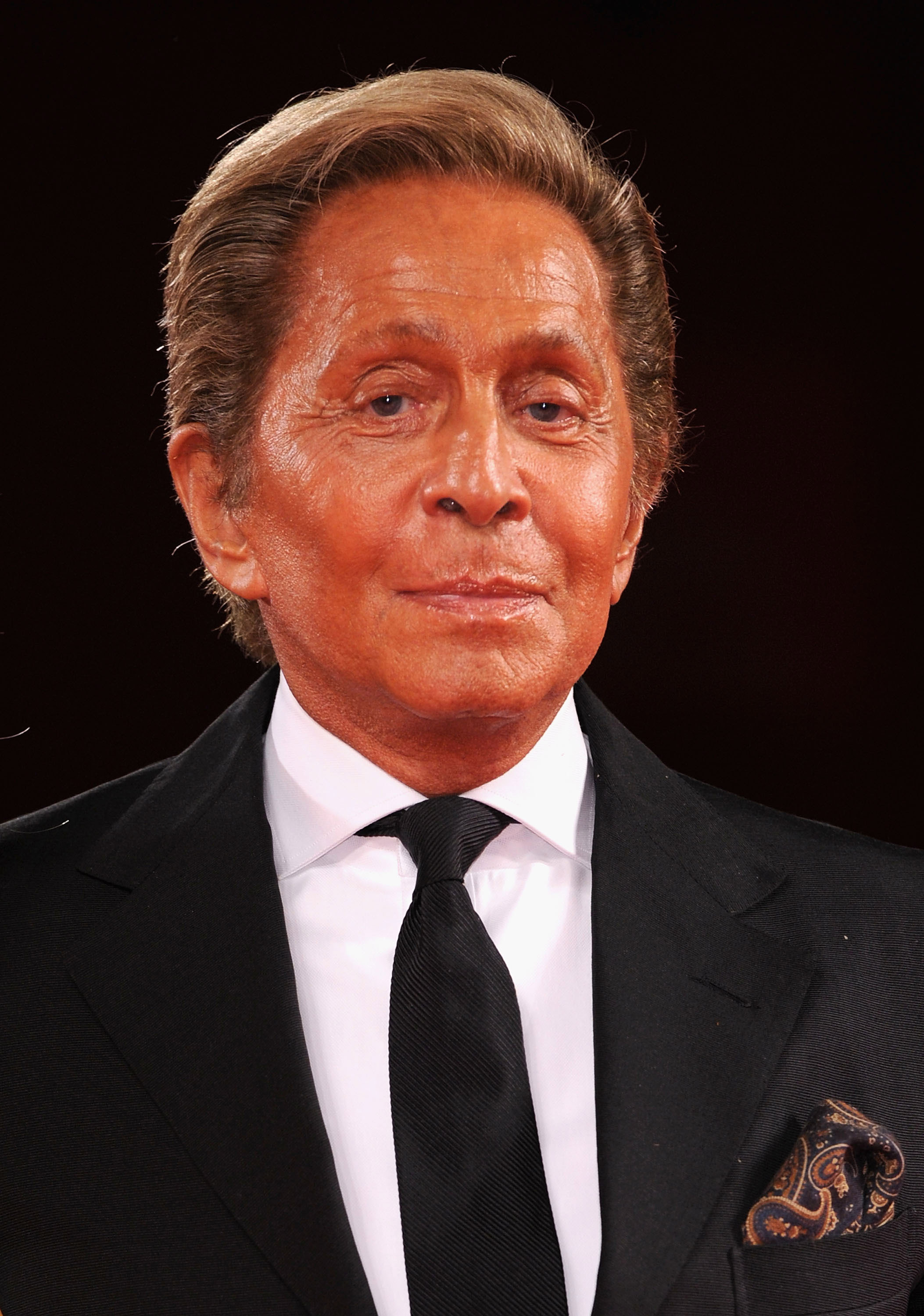 Valentino turned up for Madonna's big night.